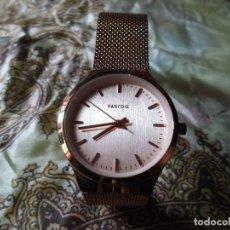 Relojes de pulsera: RELOJ PARFOIS DE ALTA GAMA BAÑO ORO. Lote 122629056