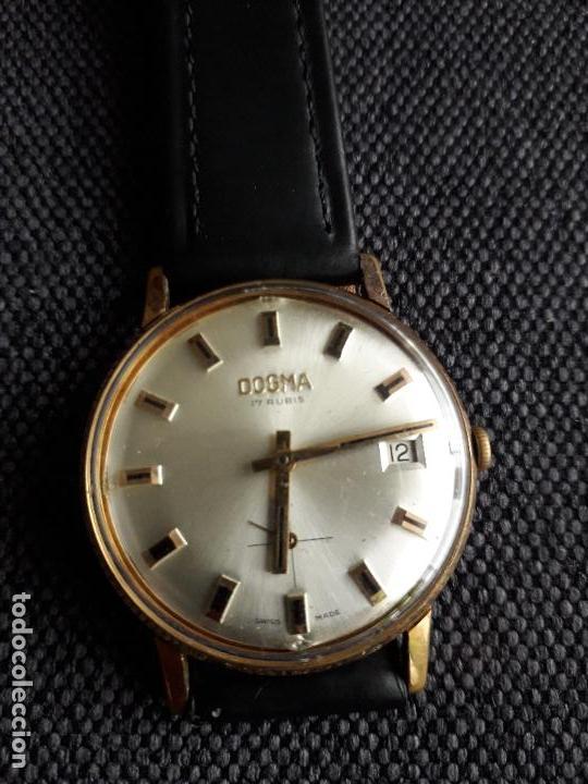 Relojes de pulsera: Reloj Dogma. Clásico de Caballero. Funcionando. - Foto 8 - 116903291