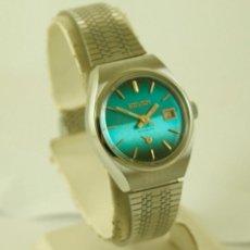 Relojes de pulsera: SAVAR DE DAMA MECANICO NOS PRECIOSO COLOR VINTAGE FUNCIONANDO. Lote 116928915