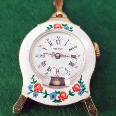 Relojes de pulsera: RELOJ NELSON DE CUERDA, NOS (NEW OLD STOCK). Lote 117028047
