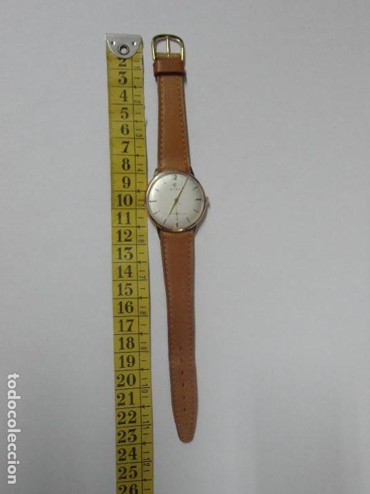 Relojes de pulsera: RELOJ CUERDA MANUAL CABALLERO CYMA - CYMAFLEX - ORO. - Foto 8 - 117116907