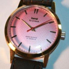 Relojes de pulsera: PRECIOSO RELOJ DE PULSERA HMT DE CABALLERO PROCEDE DE CIERRE DE JOYERÍA, ESTA REVISADO ACEITADO 17 J. Lote 117367519