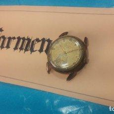 Relojes de pulsera: MUY ANTIGUO RELOJ DE CUERDA ARCADIA, GRANDE, PARA REPARAR O PIEZAS, MUY BOTITO. Lote 117393943