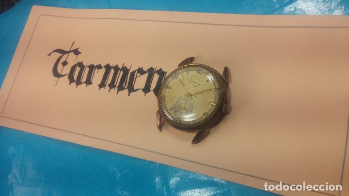 Relojes de pulsera: Muy antiguo reloj de cuerda ARCADIA, grande, para reparar o piezas, muy botito - Foto 2 - 117393943