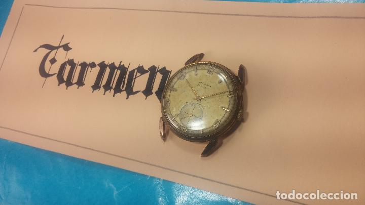 Relojes de pulsera: Muy antiguo reloj de cuerda ARCADIA, grande, para reparar o piezas, muy botito - Foto 3 - 117393943