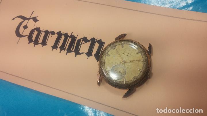 Relojes de pulsera: Muy antiguo reloj de cuerda ARCADIA, grande, para reparar o piezas, muy botito - Foto 4 - 117393943