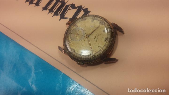 Relojes de pulsera: Muy antiguo reloj de cuerda ARCADIA, grande, para reparar o piezas, muy botito - Foto 5 - 117393943