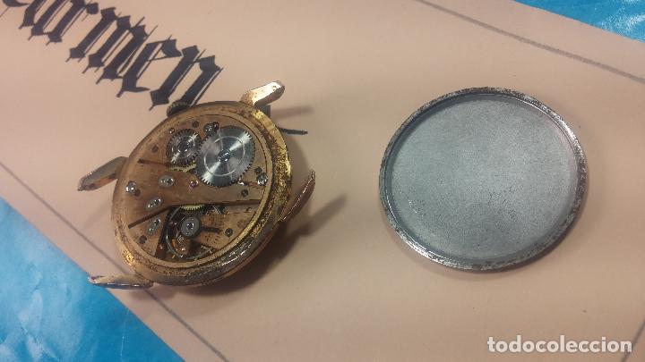 Relojes de pulsera: Muy antiguo reloj de cuerda ARCADIA, grande, para reparar o piezas, muy botito - Foto 7 - 117393943