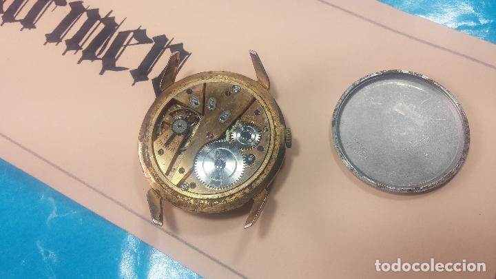 Relojes de pulsera: Muy antiguo reloj de cuerda ARCADIA, grande, para reparar o piezas, muy botito - Foto 8 - 117393943