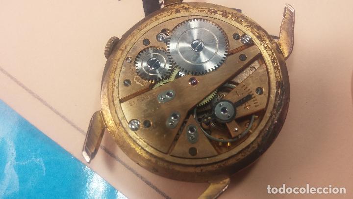 Relojes de pulsera: Muy antiguo reloj de cuerda ARCADIA, grande, para reparar o piezas, muy botito - Foto 10 - 117393943