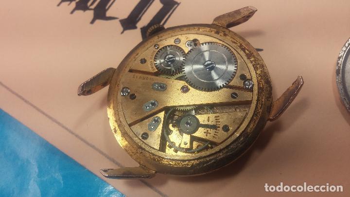 Relojes de pulsera: Muy antiguo reloj de cuerda ARCADIA, grande, para reparar o piezas, muy botito - Foto 14 - 117393943