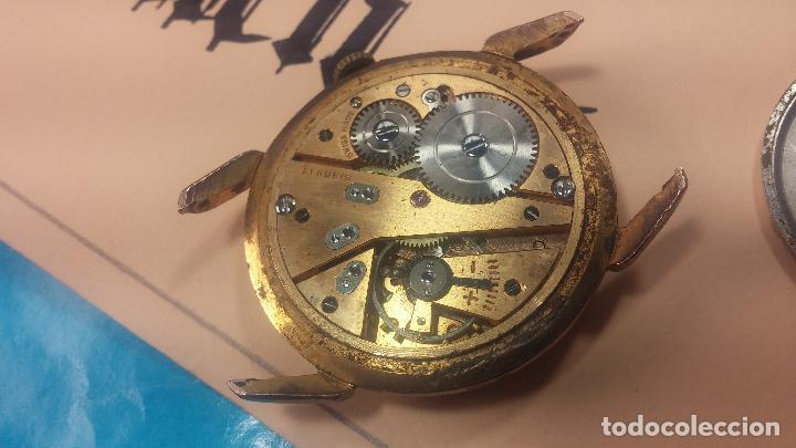 Relojes de pulsera: Muy antiguo reloj de cuerda ARCADIA, grande, para reparar o piezas, muy botito - Foto 16 - 117393943