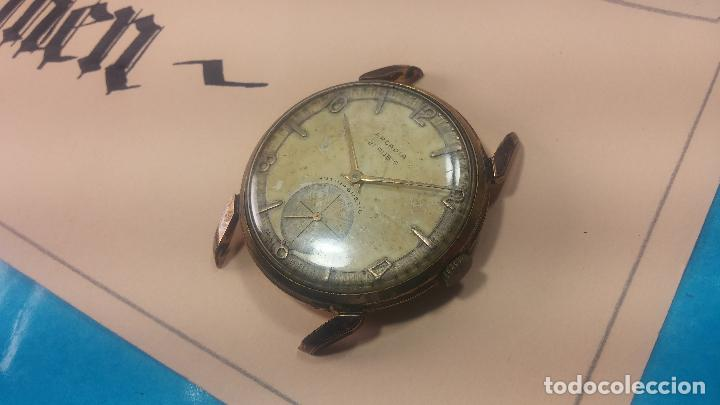 Relojes de pulsera: Muy antiguo reloj de cuerda ARCADIA, grande, para reparar o piezas, muy botito - Foto 18 - 117393943