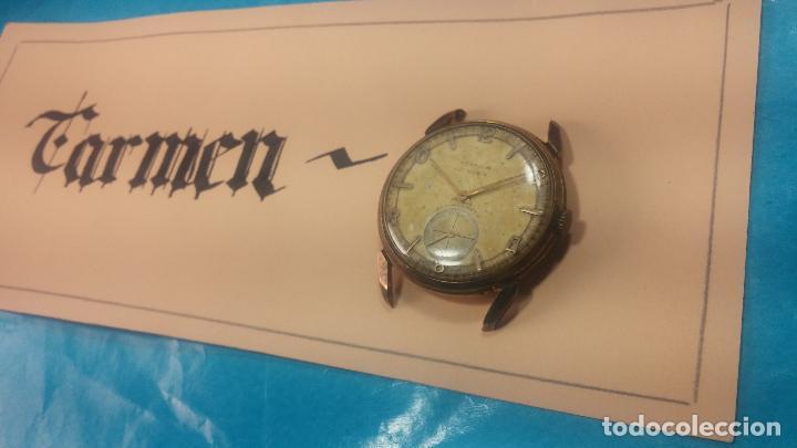 Relojes de pulsera: Muy antiguo reloj de cuerda ARCADIA, grande, para reparar o piezas, muy botito - Foto 19 - 117393943