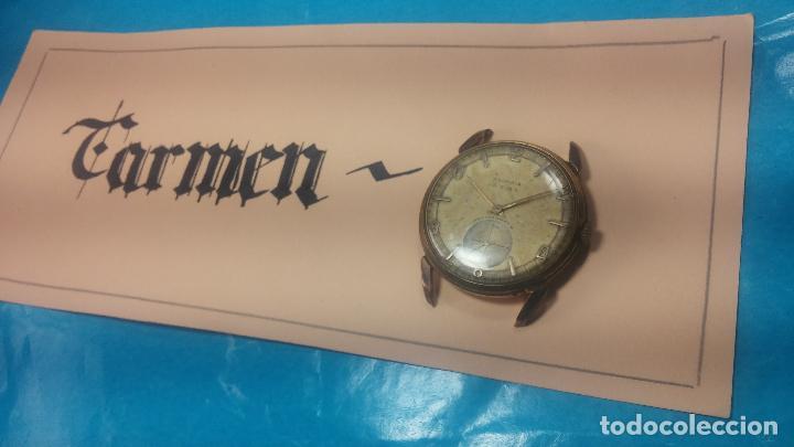 Relojes de pulsera: Muy antiguo reloj de cuerda ARCADIA, grande, para reparar o piezas, muy botito - Foto 21 - 117393943