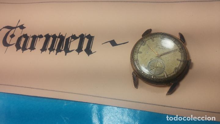 Relojes de pulsera: Muy antiguo reloj de cuerda ARCADIA, grande, para reparar o piezas, muy botito - Foto 22 - 117393943