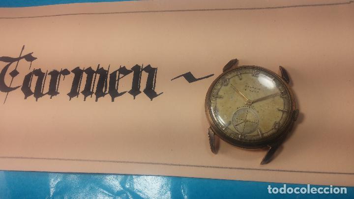 Relojes de pulsera: Muy antiguo reloj de cuerda ARCADIA, grande, para reparar o piezas, muy botito - Foto 23 - 117393943