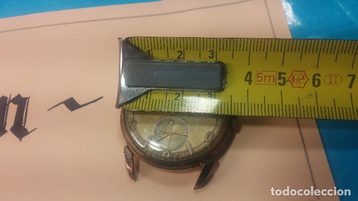 Relojes de pulsera: Muy antiguo reloj de cuerda ARCADIA, grande, para reparar o piezas, muy botito - Foto 28 - 117393943