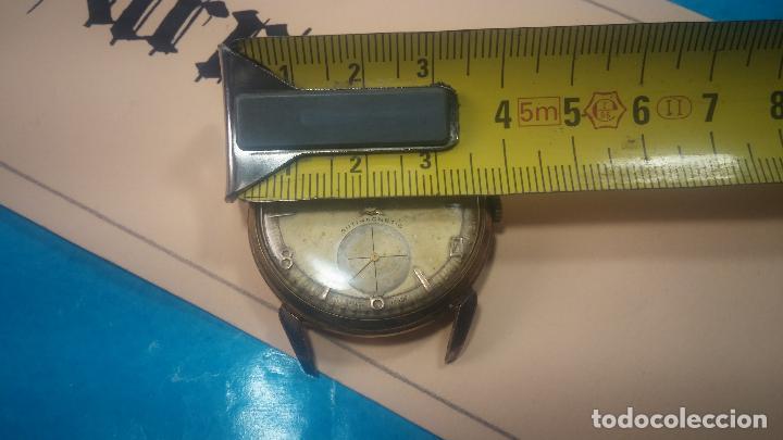 Relojes de pulsera: Muy antiguo reloj de cuerda ARCADIA, grande, para reparar o piezas, muy botito - Foto 30 - 117393943