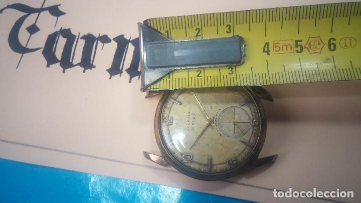Relojes de pulsera: Muy antiguo reloj de cuerda ARCADIA, grande, para reparar o piezas, muy botito - Foto 31 - 117393943