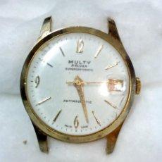 Relojes de pulsera: RELOJ MULTY PRIMA SUPERDATOMATIC, ANTIMAGNETIC. VER. Lote 117521707