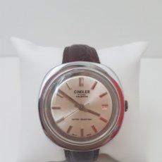 Relojes de pulsera: RELOJ DE CABALLERO. CINGLER. CON CALENDARIO.. Lote 117627623