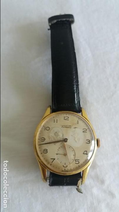 RELOJ TORMAS DE CARGA MANUAL . (Relojes - Pulsera Carga Manual)