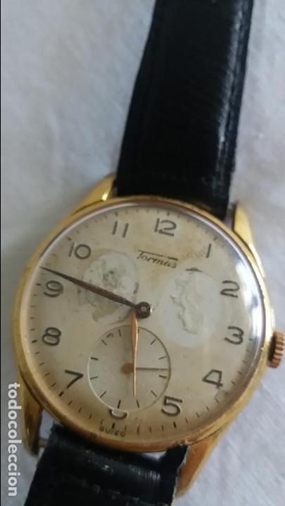 Relojes de pulsera: Reloj Tormas de carga manual . - Foto 3 - 117701499