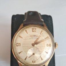 Relojes de pulsera: RELOJ DOGMA PRIMA ANCRE 15 RUBIS PLAQUE D'OR. Lote 117726527