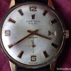 Relojes de pulsera: RELOJ FESTINA DE CUERDA FUNCIONANDO BIEN. Lote 136190073