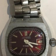 Relojes de pulsera: RELOJ TORMAS EN ACERO COMPLETO CON CARGA MANUAL EN FUNCIONAMIENTO. Lote 103870851