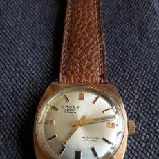 Relojes de pulsera: RELOJ CLÁSICO DE CABALLERO MARCA CAUNY FUNCIONANDO.. Lote 118432687