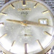 Relojes de pulsera: ANTIGUO DUWUARD ORLY MILITAR AÑOS 50 CHAPADO EN ORO FUNCIONA PERFEC LOTE WATCHES. Lote 118493683