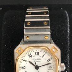 Relojes de pulsera: RELOJ DE MUJER DUWARD DIPLOMATIC EN ACERO Y ORO. NUEVO A ESTRENAR.. Lote 174221448