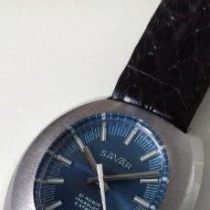Relojes de pulsera: RELOJ CARGA MANUAL SAVAR. Lote 118697127