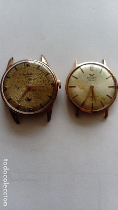 DOS RELOJES DUWARD (Relojes - Pulsera Carga Manual)