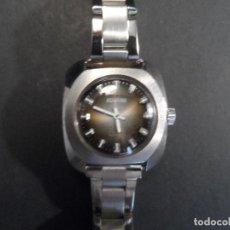 Relojes de pulsera: RELOJ SEÑORA DUWARD. EN ACERO. CARGA MANUAL.17 JEWELS INCABLOC. SWISS. SIGLO XX. Lote 118915147