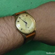 Relojes de pulsera: ENORME RELOJ DUWARD ORLY CARGA MANUAL SWISS MADE CALIBRE W777 GRANDE 39 MMS 17 RUBIS AÑOS 50. Lote 118938627