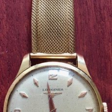Relojes de pulsera: RELOJ LONGINES Y CADENA DE ORO. CABALLERO. ANTIGUO. Lote 119087671