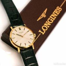 Relojes de pulsera: ESPECTACULAR RELOJ DE PULSERA LONGINES ORO 18 QUILATES DE CARGA MANUAL EN PERFECTO ESTADO.. Lote 119236723