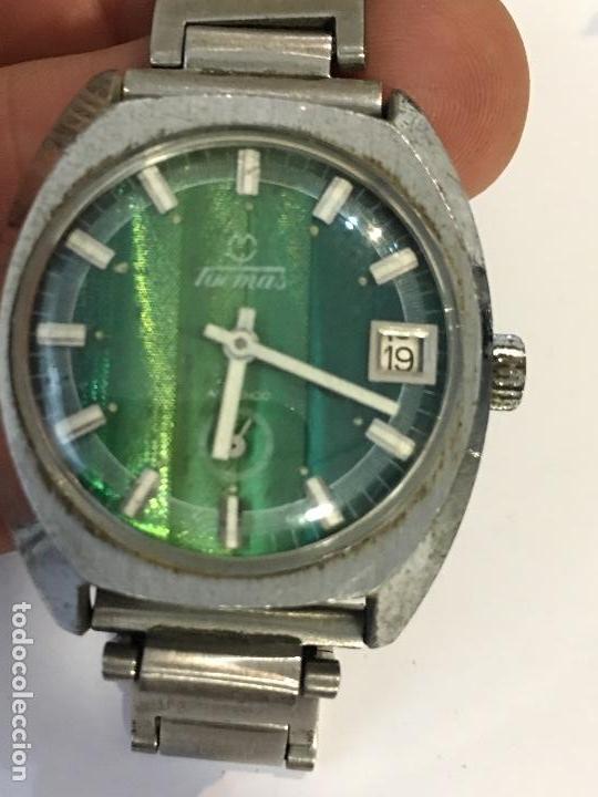RELOJ TORMAS CARGA MANUAL EN FUNCIONAMIENTO (Relojes - Pulsera Carga Manual)