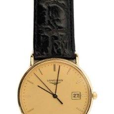 Relojes de pulsera: ESPECTACULAR RELOJ DE PULSERA LONGINES ORO 18 QUILATES, EN PERFECTO ESTADO DE FUNCIONAMIENTO,ESTUCHE. Lote 119362607