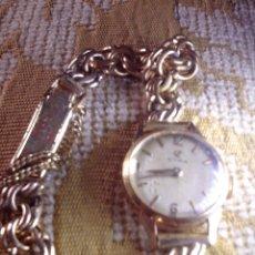 Relojes de pulsera: ANTIGUO RELOJ CYMA SEÑORA DE ORO 18K, CARGA MANUAL. Lote 119586071