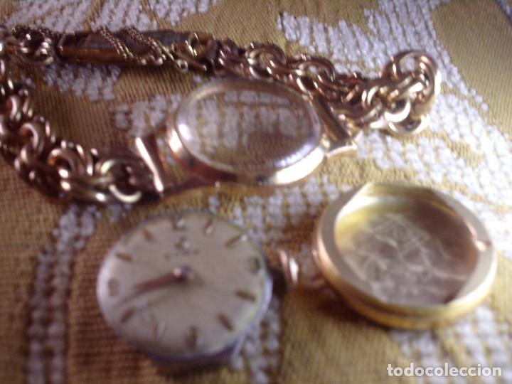 Relojes de pulsera: ~~~~ ANTIGUO RELOJ CYMA SEÑORA DE ORO 18K, CARGA MANUAL, NECESITA LIMPIEZA Y REVISION ~~~~ - Foto 4 - 119586071