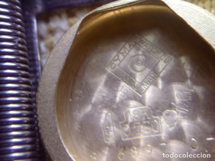 Relojes de pulsera: ~~~~ ANTIGUO RELOJ CYMA SEÑORA DE ORO 18K, CARGA MANUAL, NECESITA LIMPIEZA Y REVISION ~~~~ - Foto 11 - 119586071