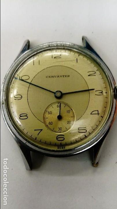 INTERESANTE RELOJ CERVANTES (Relojes - Pulsera Carga Manual)