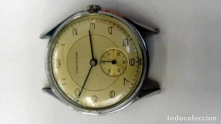 Relojes de pulsera: Interesante Reloj Cervantes - Foto 2 - 119655075