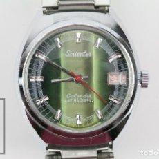 Relojes de pulsera: RELOJ DE PULSERA PARA HOMBRE - SORIENTER - CALENDAR / CALENDARIO / ANTIMAGNETIC - ESFERA VERDE. Lote 119942555