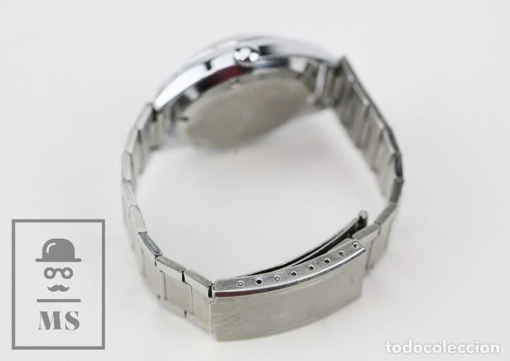 Relojes de pulsera: Reloj de Pulsera para Hombre - Sorienter - Calendar / Calendario / Antimagnetic - Esfera Verde - Foto 5 - 119942555