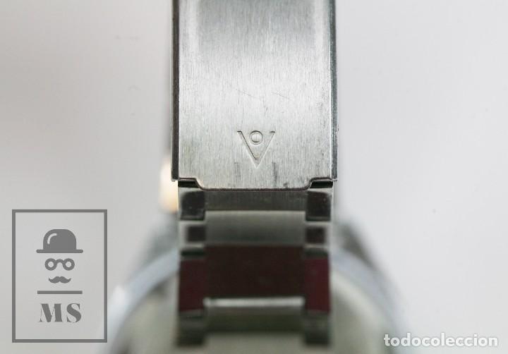 Relojes de pulsera: Reloj de Pulsera para Hombre - Sorienter - Calendar / Calendario / Antimagnetic - Esfera Verde - Foto 6 - 119942555